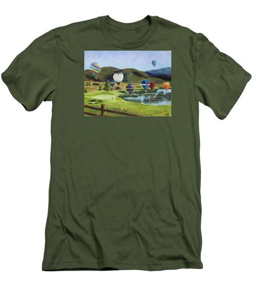 Soaring Over Colorado Men's T-Shirt (Athletic Fit)