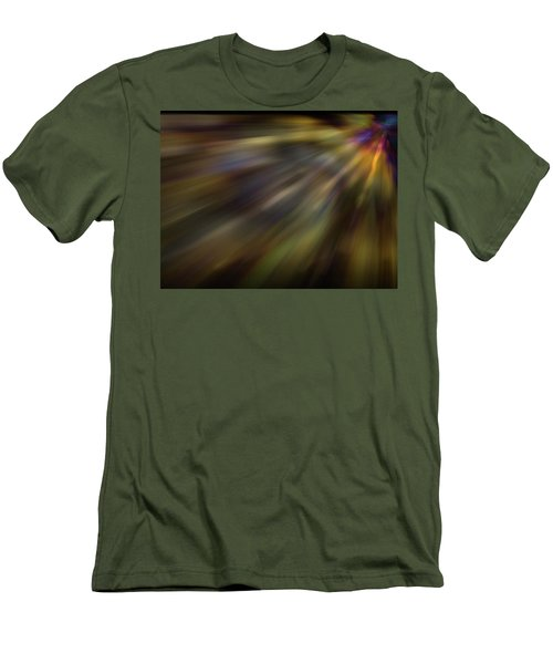 Soft Amber Blur Men's T-Shirt (Athletic Fit)