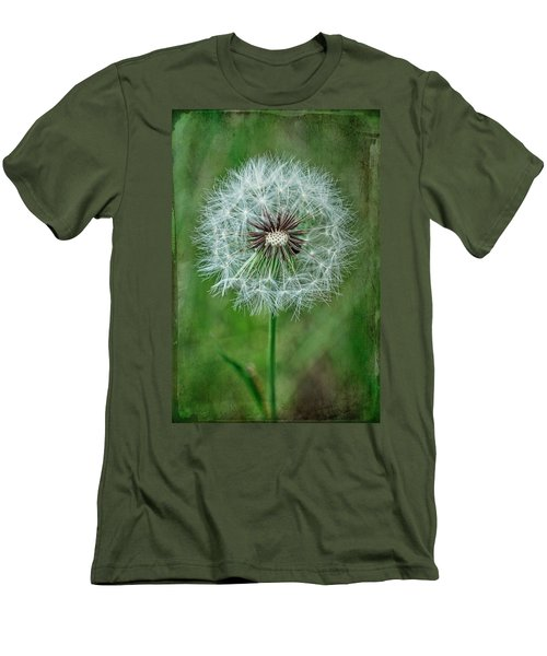 Men's T-Shirt (Slim Fit) featuring the photograph Softly Sitting by Jan Amiss Photography