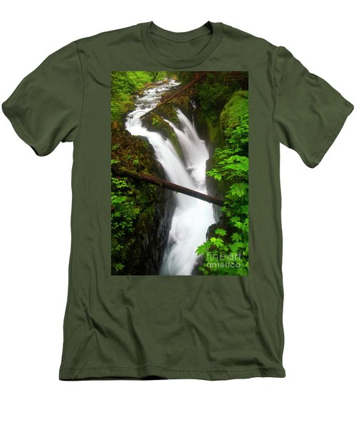 Sol Duc Rush Men's T-Shirt (Athletic Fit)