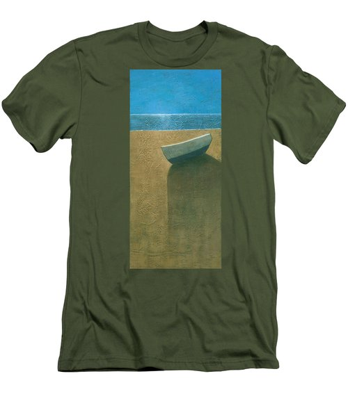Solitary Boat Men's T-Shirt (Athletic Fit)