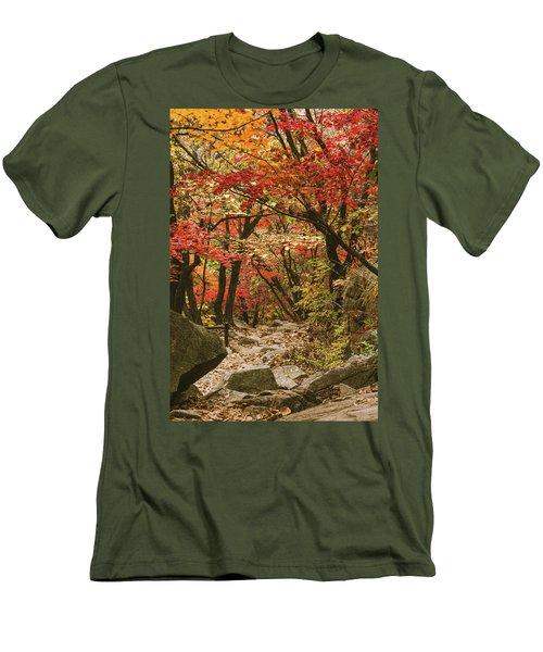 Solitary Men's T-Shirt (Slim Fit) by Hyuntae Kim