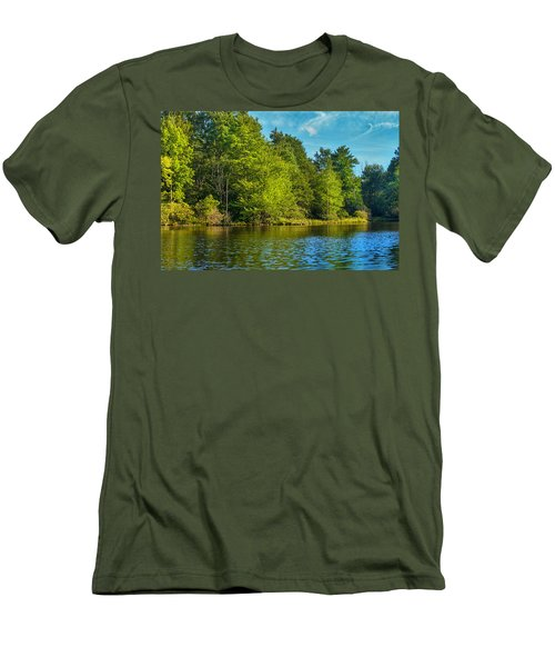 Solitude  Men's T-Shirt (Slim Fit) by Swank Photography