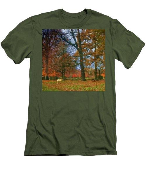 Solo Deer Men's T-Shirt (Athletic Fit)