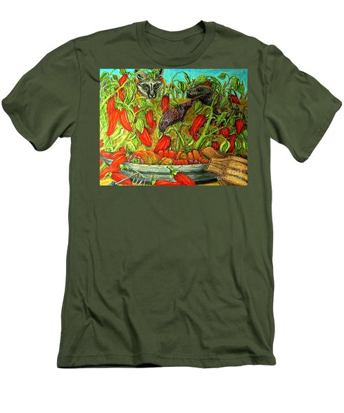 Somebodys Lucky Day Men's T-Shirt (Slim Fit) by Kim Jones