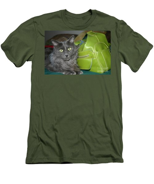 Someone Say Green? Men's T-Shirt (Slim Fit)