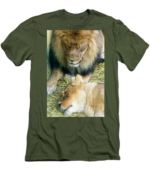 Someone To Watch Over Me Men's T-Shirt (Athletic Fit)