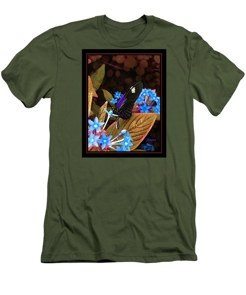 Men's T-Shirt (Slim Fit) featuring the photograph Something Sweet by Steven Lebron Langston
