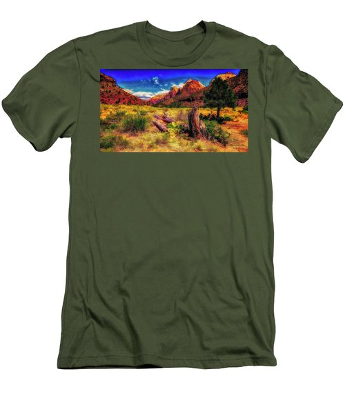 Somewhere In Utah ... Men's T-Shirt (Athletic Fit)