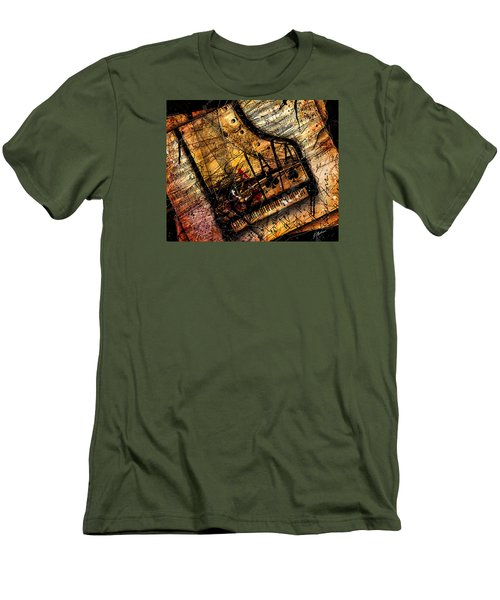 Sonata In Ace Minor Men's T-Shirt (Slim Fit) by Gary Bodnar