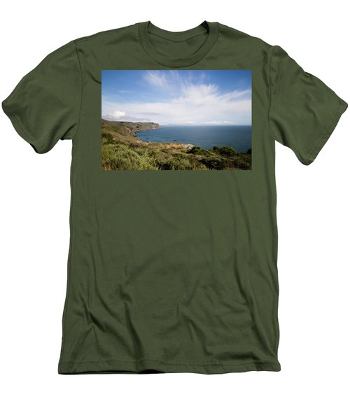 Sonoma Coastline Men's T-Shirt (Slim Fit)
