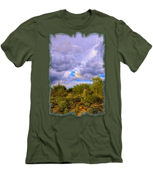 Sonoran Desert V13 Men's T-Shirt (Athletic Fit)