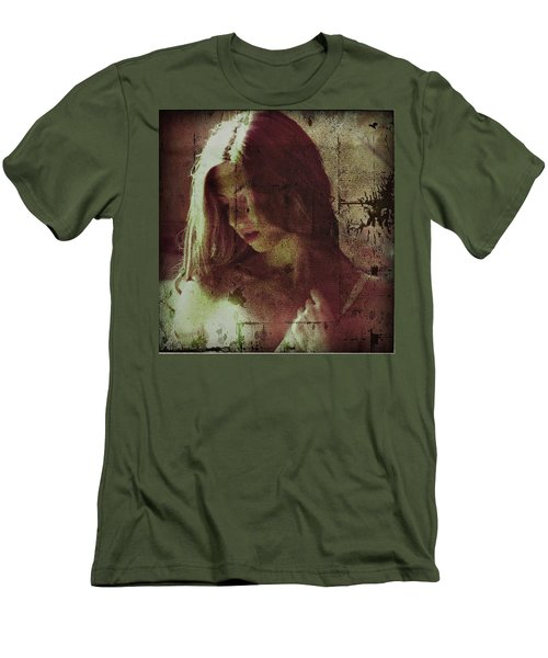 Sorrow Men's T-Shirt (Slim Fit) by Allen Beilschmidt