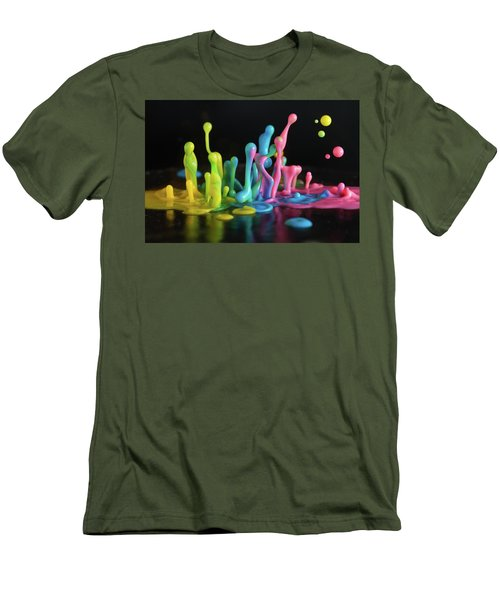 Men's T-Shirt (Slim Fit) featuring the photograph Sound Sculpture by William Lee