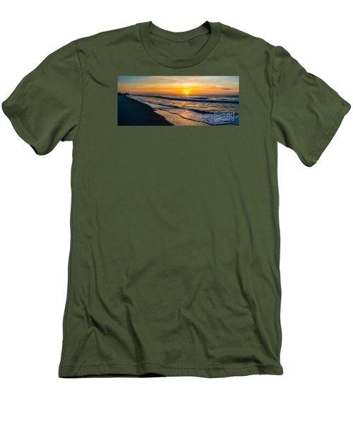 South Carolina Sunrise Men's T-Shirt (Slim Fit) by David Smith