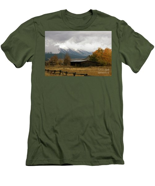 South Idaho Rt 20 Men's T-Shirt (Slim Fit) by Cindy Murphy - NightVisions