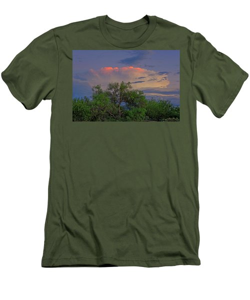 Men's T-Shirt (Athletic Fit) featuring the photograph Southeast Of Sunset H38 by Mark Myhaver
