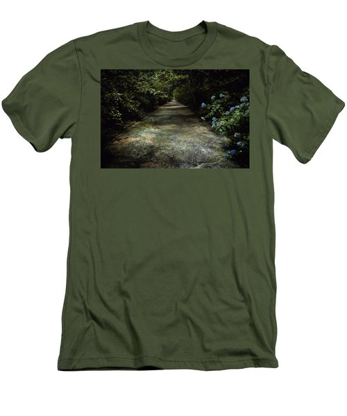 Men's T-Shirt (Slim Fit) featuring the photograph Southern Blue by Jessica Brawley