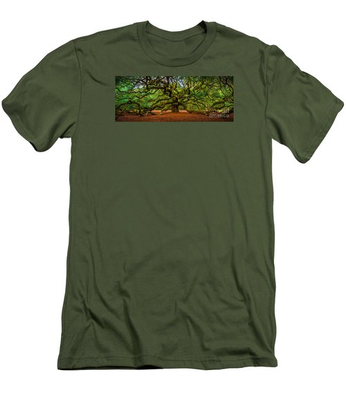Angel Oak In Charleston Men's T-Shirt (Athletic Fit)