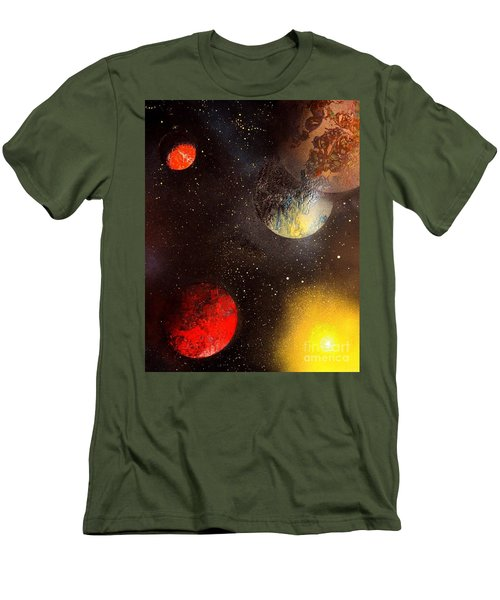 Space Balls Men's T-Shirt (Athletic Fit)