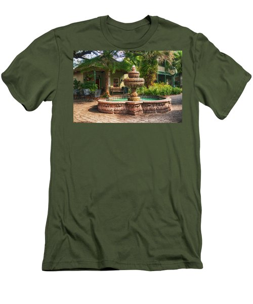 Spanish Fountain Men's T-Shirt (Athletic Fit)