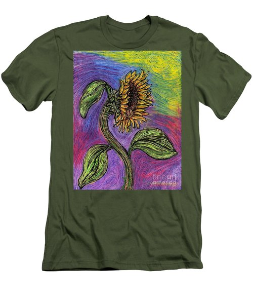 Spanish Sunflower Men's T-Shirt (Athletic Fit)