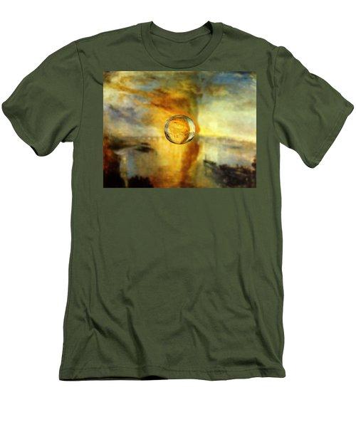 Sphere 26 Turner Men's T-Shirt (Slim Fit) by David Bridburg