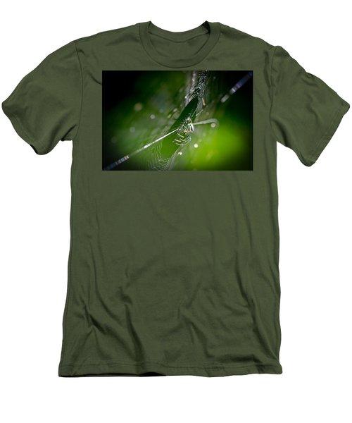 Spider Men's T-Shirt (Slim Fit) by Craig Szymanski