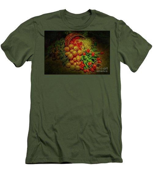 Spilled Barrel Bouquet Men's T-Shirt (Athletic Fit)