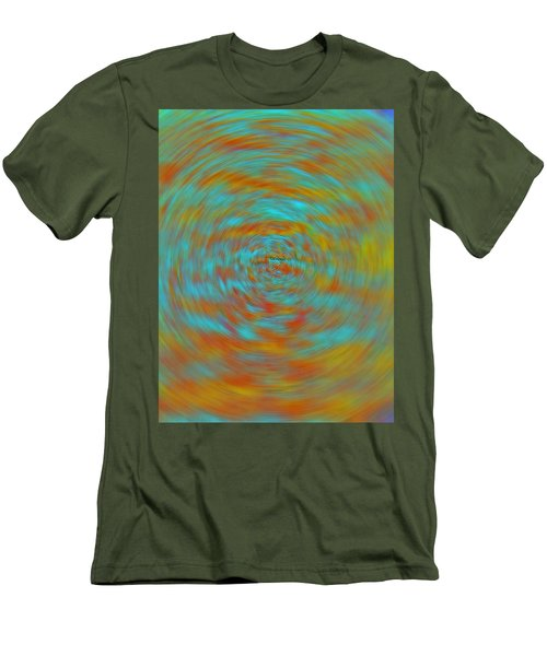 Men's T-Shirt (Slim Fit) featuring the photograph Spinning Out Of Control by Lenore Senior