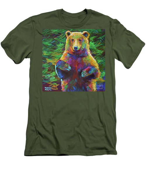Spirit Bear Men's T-Shirt (Slim Fit) by Robert Phelps