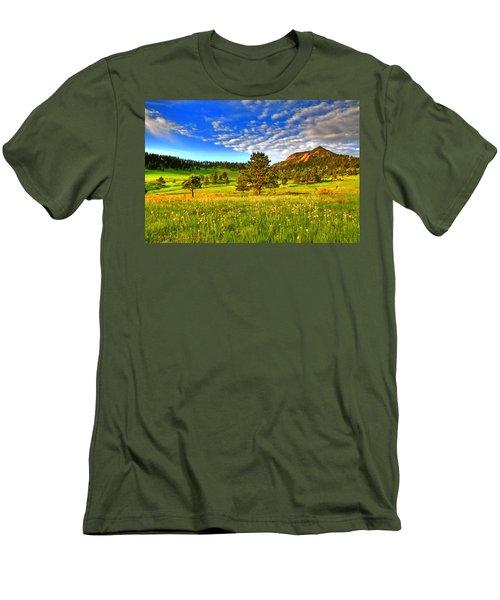 Spiritual Sky Men's T-Shirt (Slim Fit) by Scott Mahon