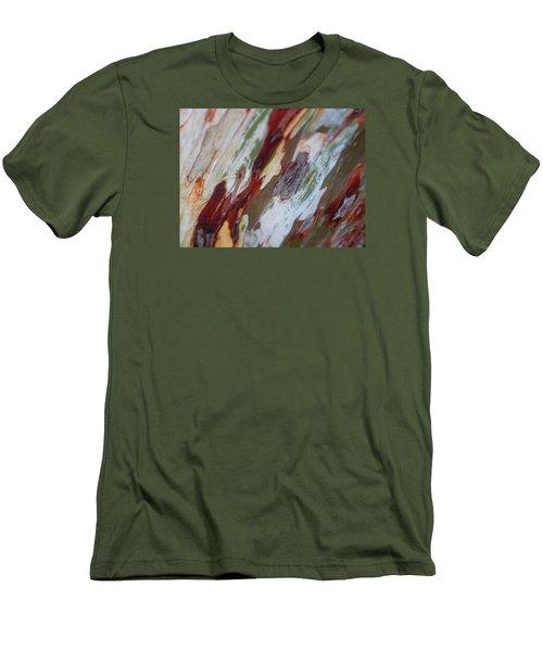 Splash Of Amber Men's T-Shirt (Slim Fit) by Vivien Rhyan