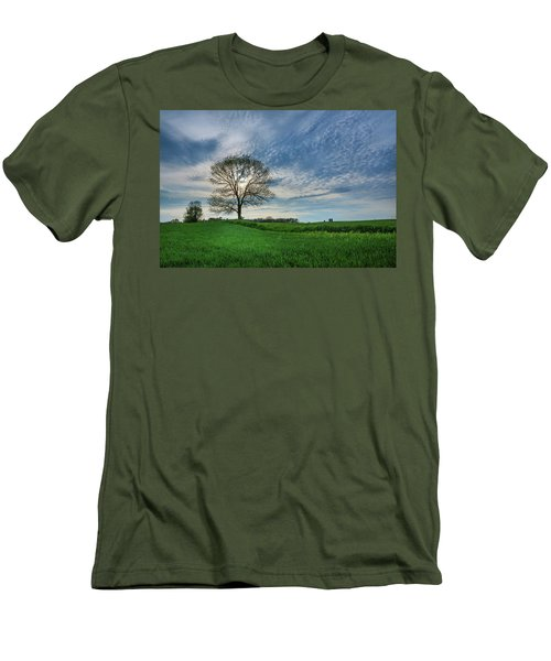 Men's T-Shirt (Athletic Fit) featuring the photograph Spring Coming On by Bill Pevlor