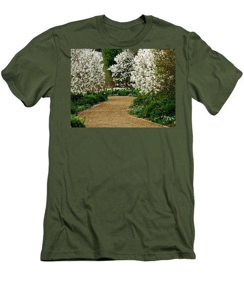 Spring Flowering Trees Wall Art Men's T-Shirt (Athletic Fit)