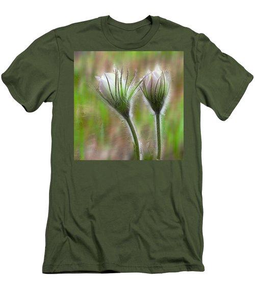 Spring Flowers Men's T-Shirt (Slim Fit) by Vladimir Kholostykh