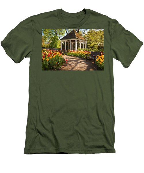 Spring Gazebo Men's T-Shirt (Athletic Fit)