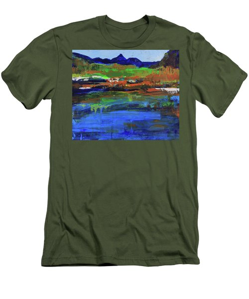 Spring In High Country Men's T-Shirt (Athletic Fit)