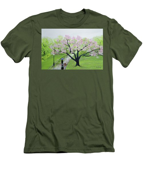 Spring In The Park Men's T-Shirt (Athletic Fit)