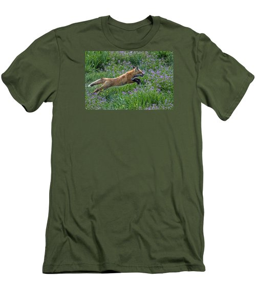 Spring Kit Men's T-Shirt (Slim Fit) by Alana Thrower
