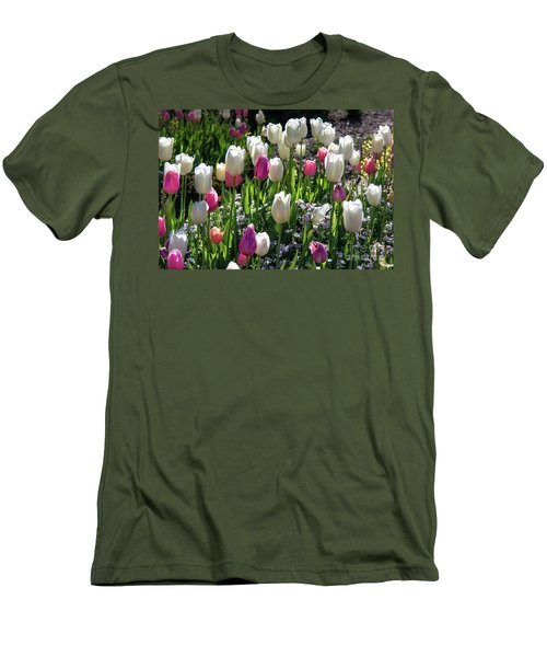 Spring Men's T-Shirt (Slim Fit) by Lisa L Silva