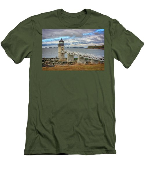 Men's T-Shirt (Slim Fit) featuring the photograph Spring Morning At Marshall Point by Rick Berk