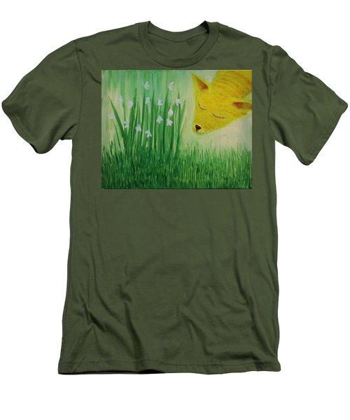 Spring Morning Men's T-Shirt (Athletic Fit)
