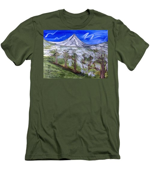Spring On The Hood Men's T-Shirt (Athletic Fit)