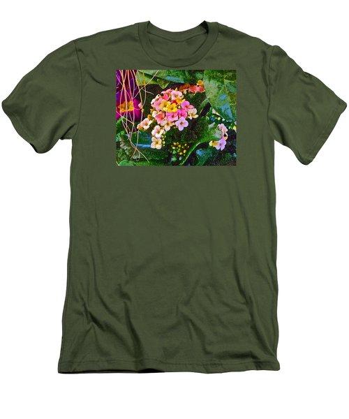 Spring Show 12 Men's T-Shirt (Slim Fit) by Janis Nussbaum Senungetuk