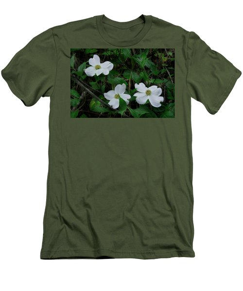 Men's T-Shirt (Slim Fit) featuring the photograph Spring Time Dogwood by Mike Eingle