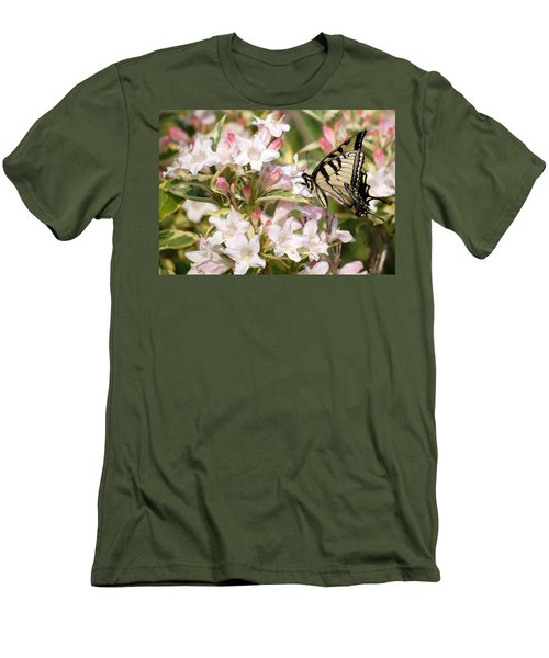 Spring Visit Men's T-Shirt (Athletic Fit)