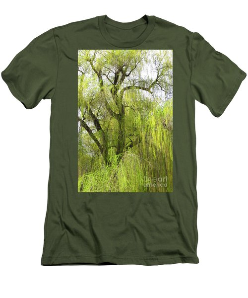 Spring Willow Men's T-Shirt (Athletic Fit)
