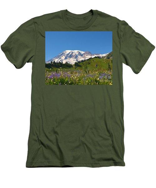 Springtime At Paradise 2 Men's T-Shirt (Athletic Fit)