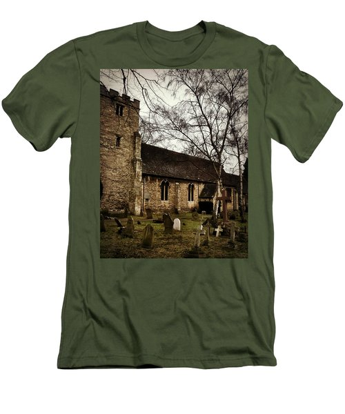 Men's T-Shirt (Slim Fit) featuring the photograph St. Thomas The Martyr by Persephone Artworks